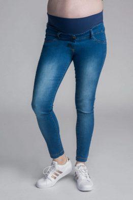 ג'ינס שולמית קצר – כחול