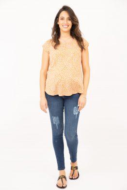 ג'ינס סקיני קרעים