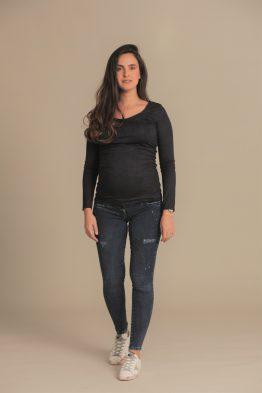 סקיני ג'ינס קרעים