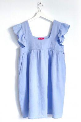 שמלת מוסלין הריון הנקה